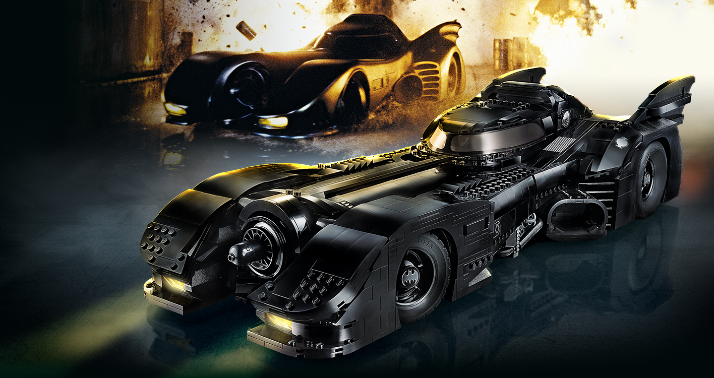 First Look: LEGO reveals new 1989 Batmobile available November 26