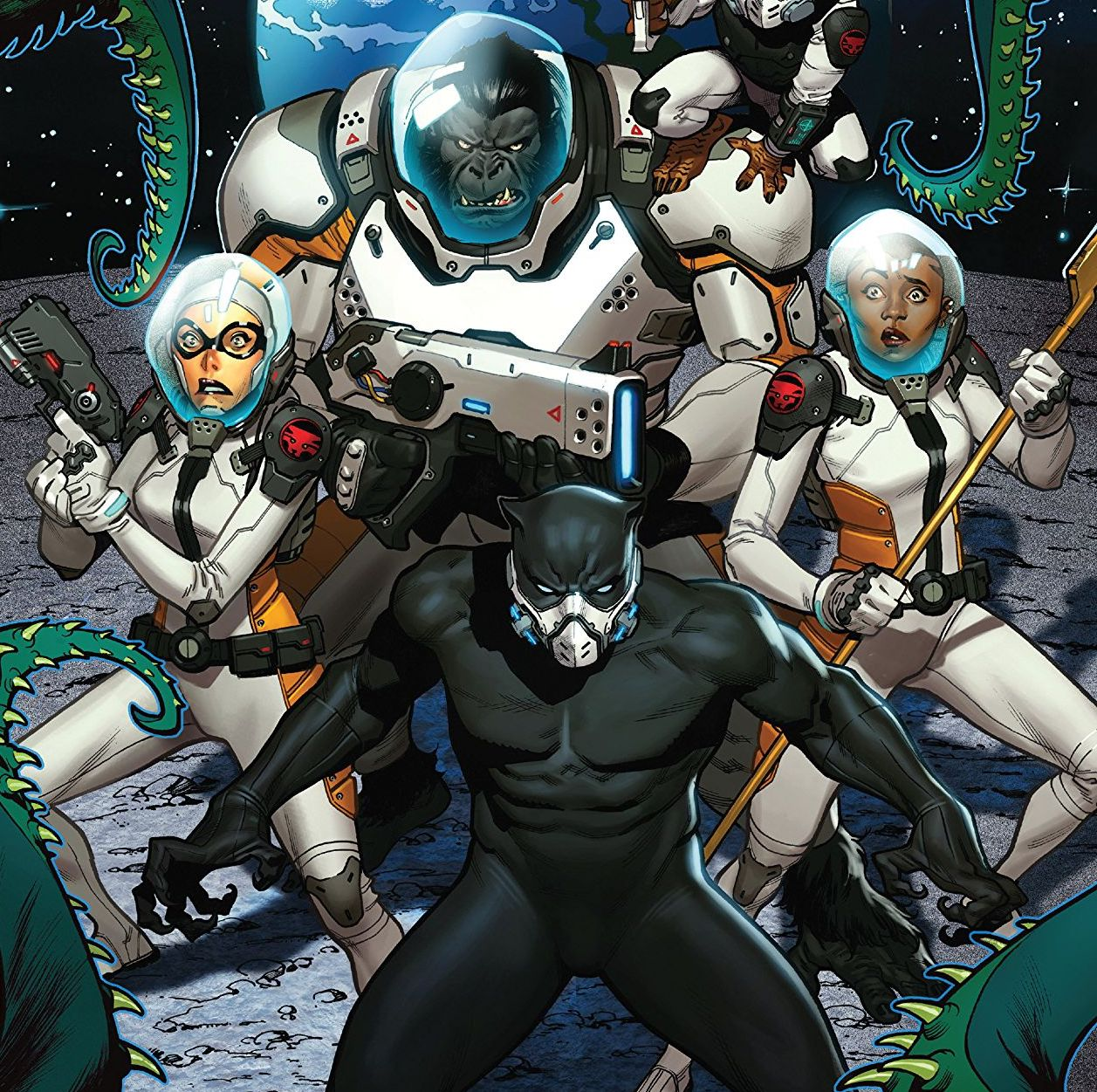 Black Panther and the Agents of Wakanda #3 Review