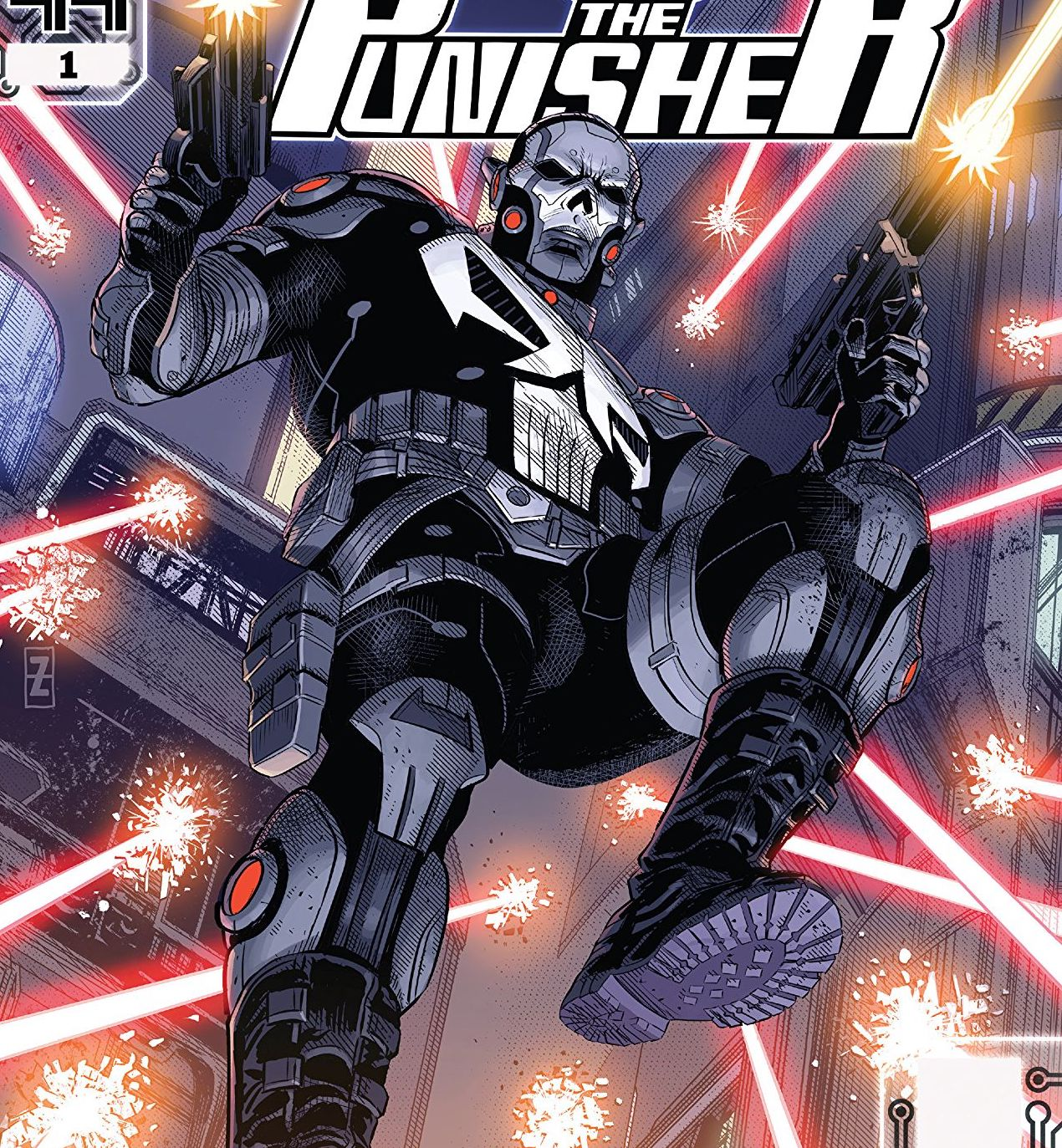 Punisher 2099 #1 Review