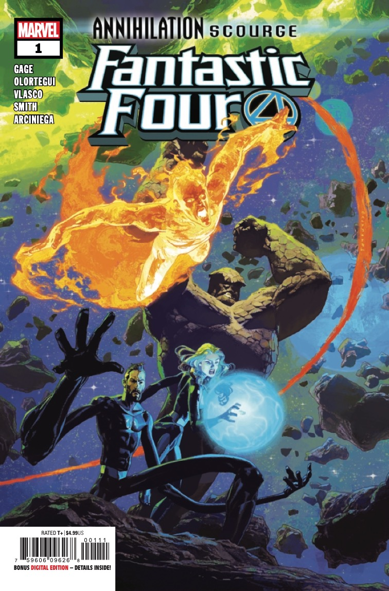 Overrun, the Fantastic Four are about to learn: No one ever truly comes home from war.