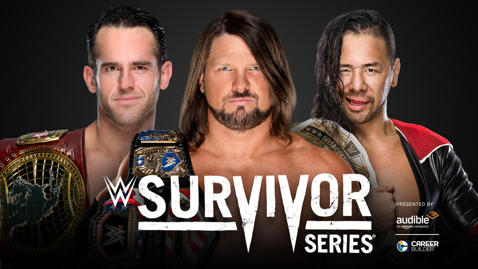 WWE adds a dream triple threat match to Survivor Series