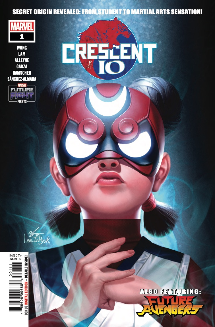 Marvel Preview: Future Fight Firsts: Crescent And Io #1