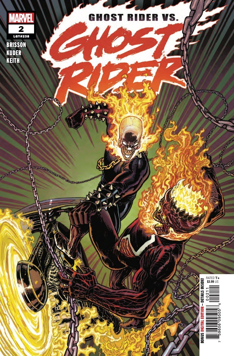 Ghost Rider #2 Review: There can be only one when the Riders clash
