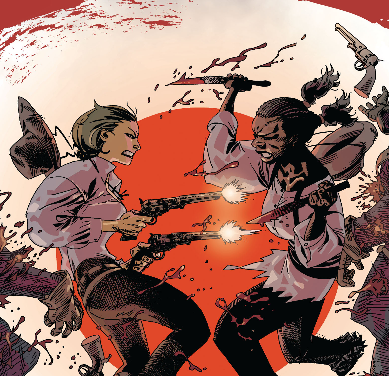 The debut creators discuss their deeply emotional tale of vengeance set during the Civil War.