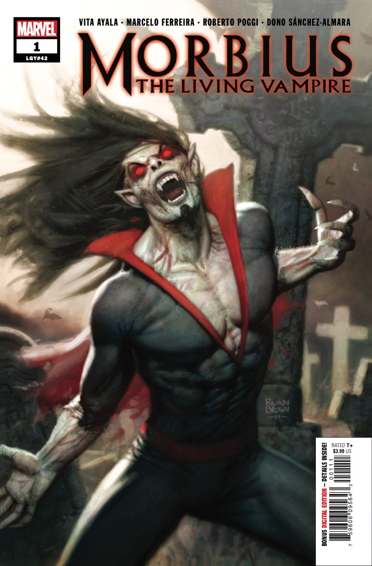 Marvel Preview: Morbius #1