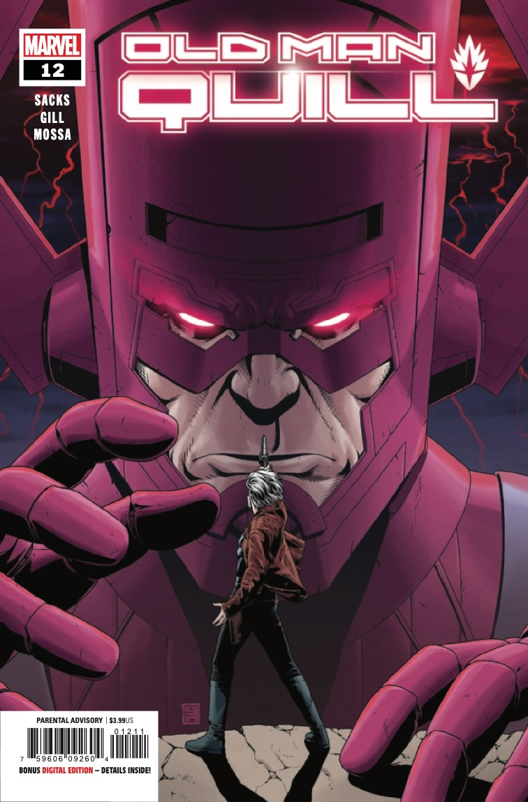 PETER QUILL is the only thing standing between GALACTUS and Earth's destruction.