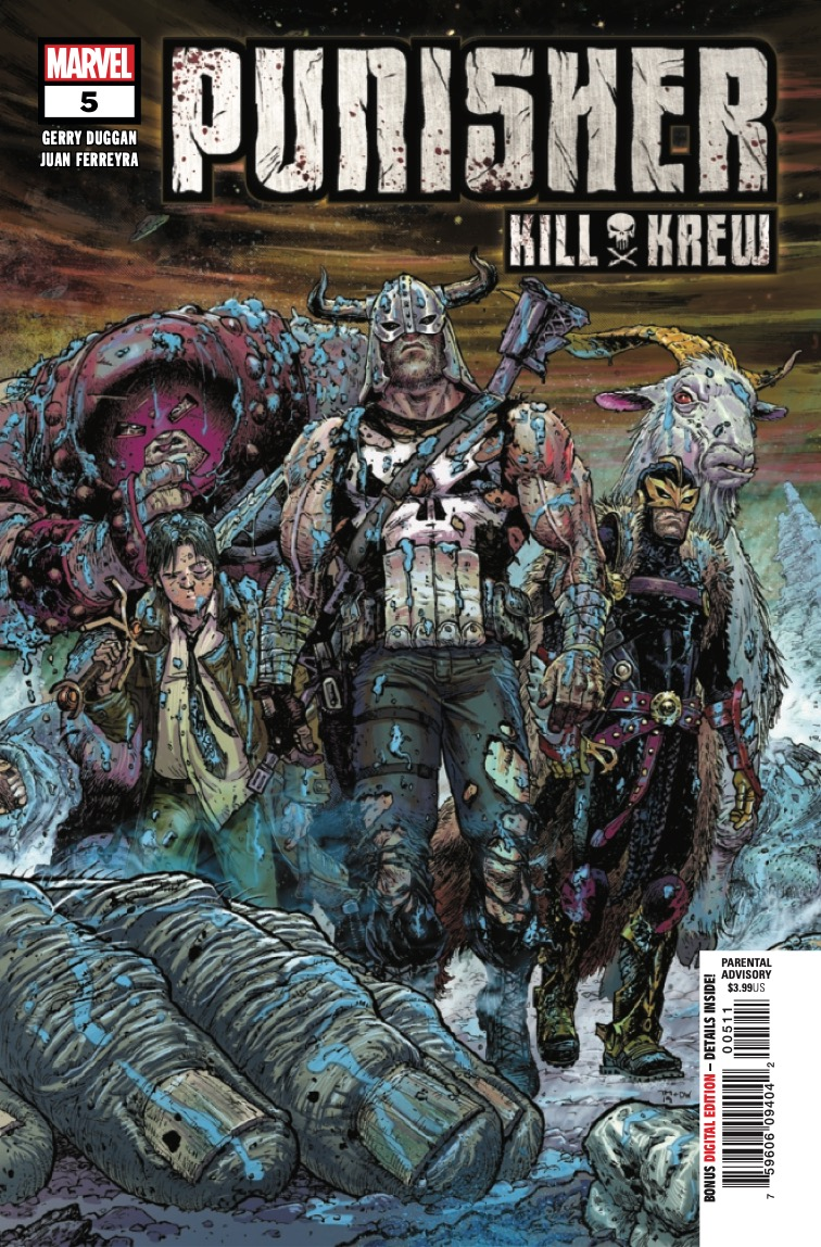 Marvel Preview: Punisher Kill Krew #5
