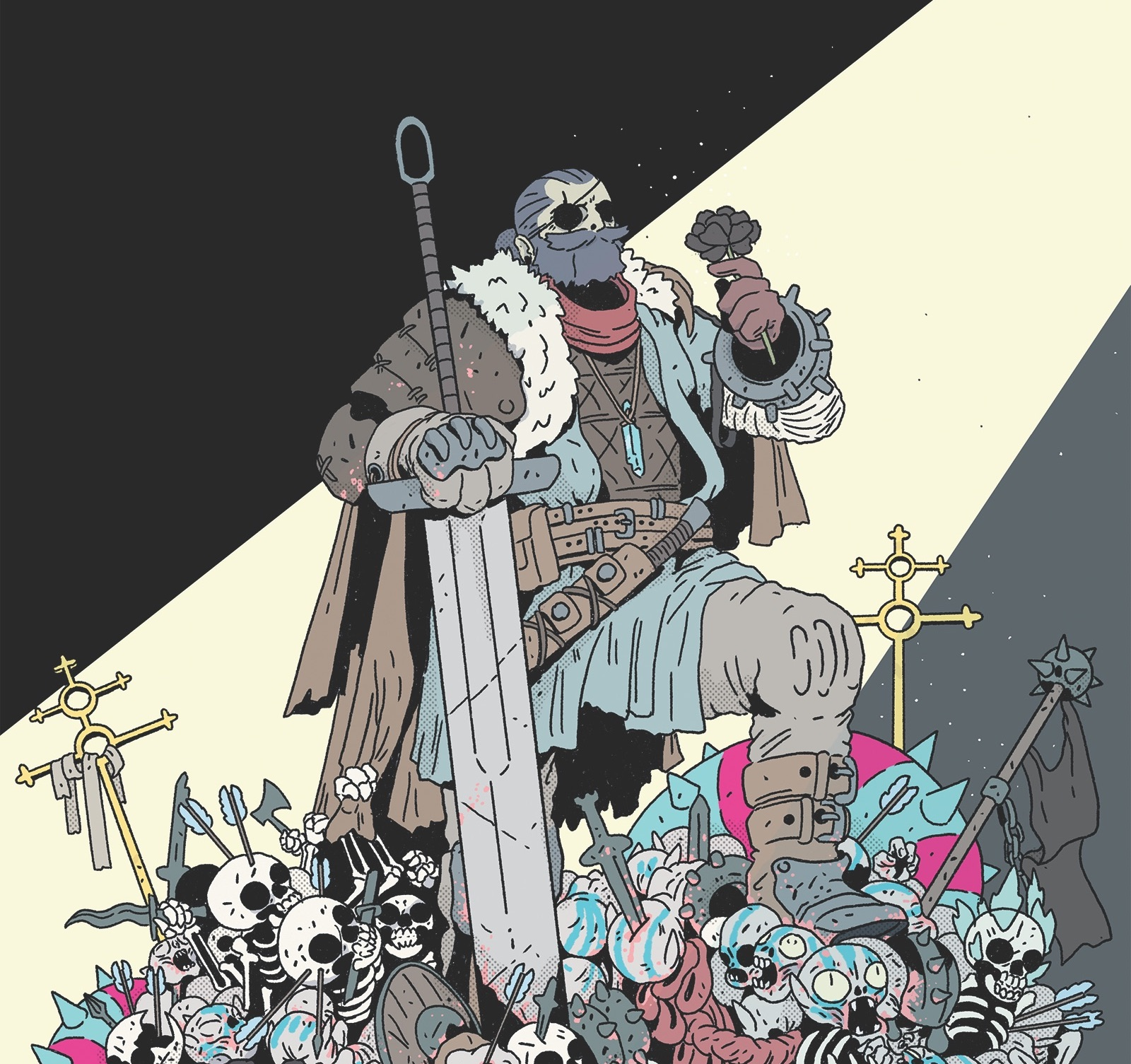 Two brothers challenge the status quo in Raiders from Dark Horse.