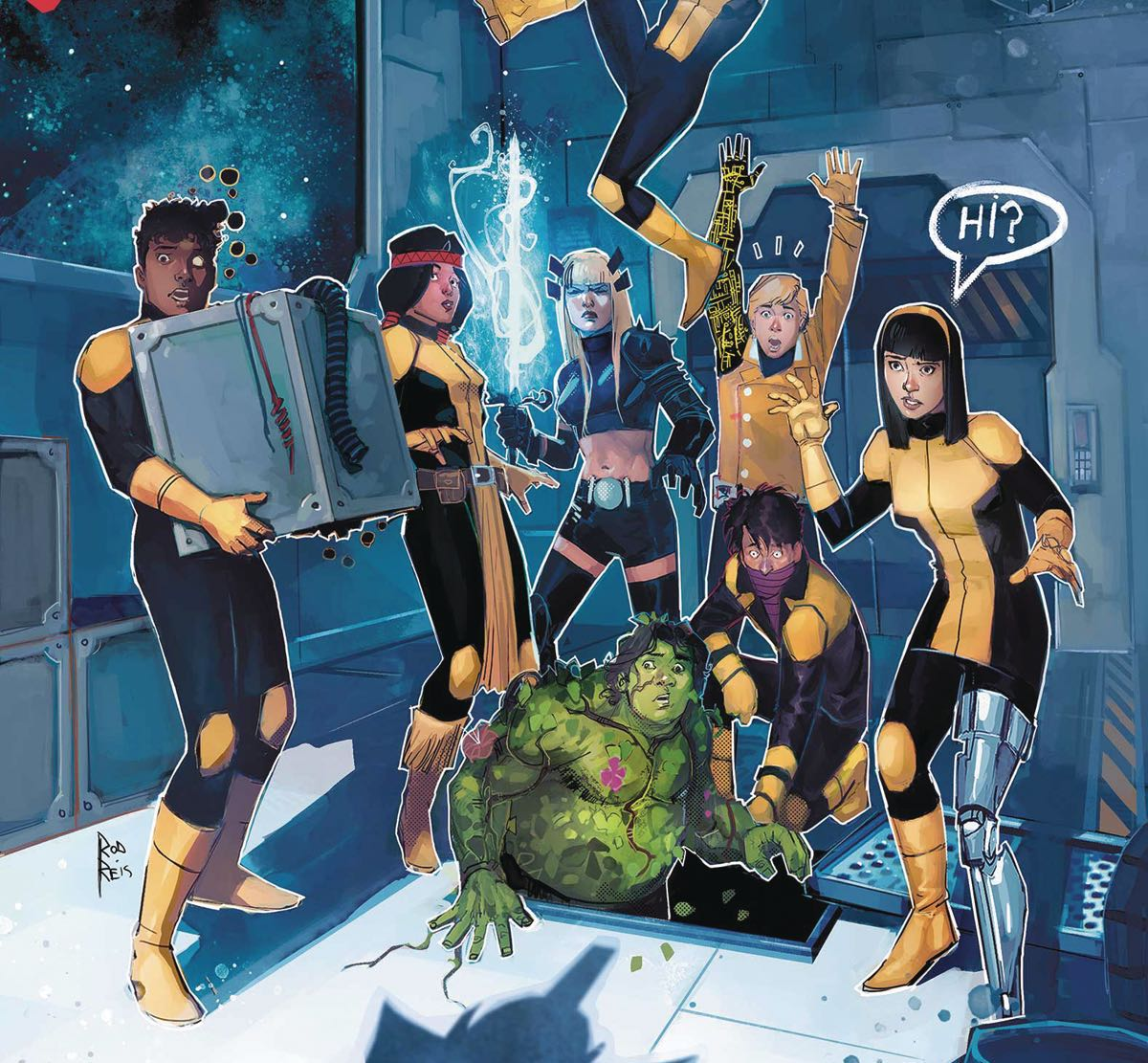 The New Mutants take on a mission in space alongside the Starjammers!
