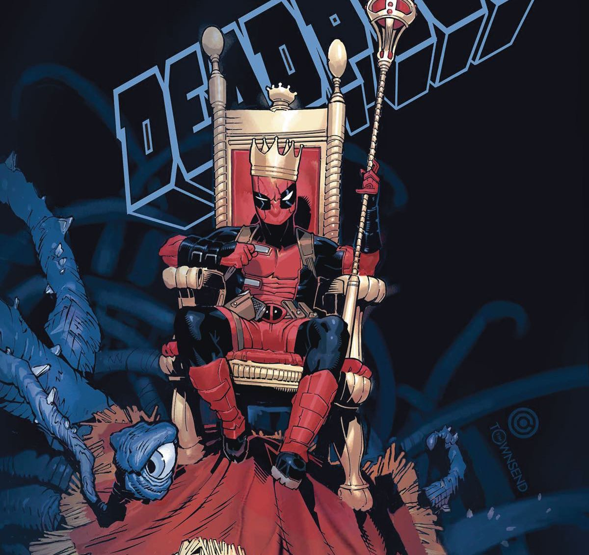 This is a fresh take on Deadpool thanks to a wild new situation for him to navigate.