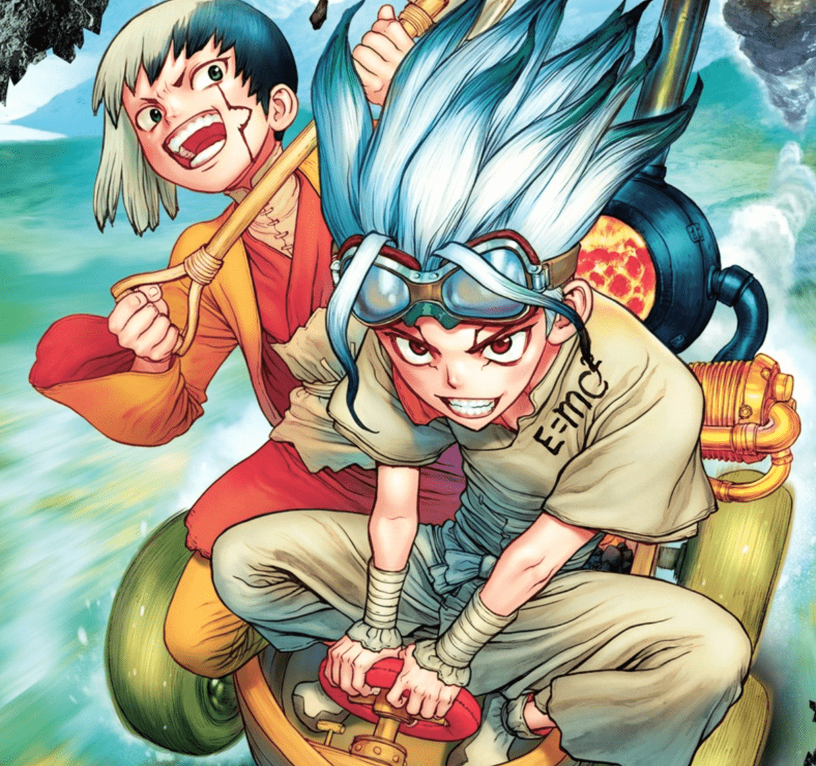 Dr. Stone Vol. 8 Review
