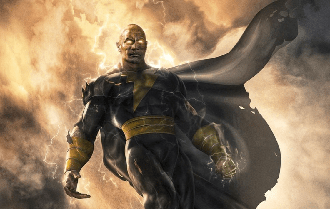 The Rock announces Black Adam release date