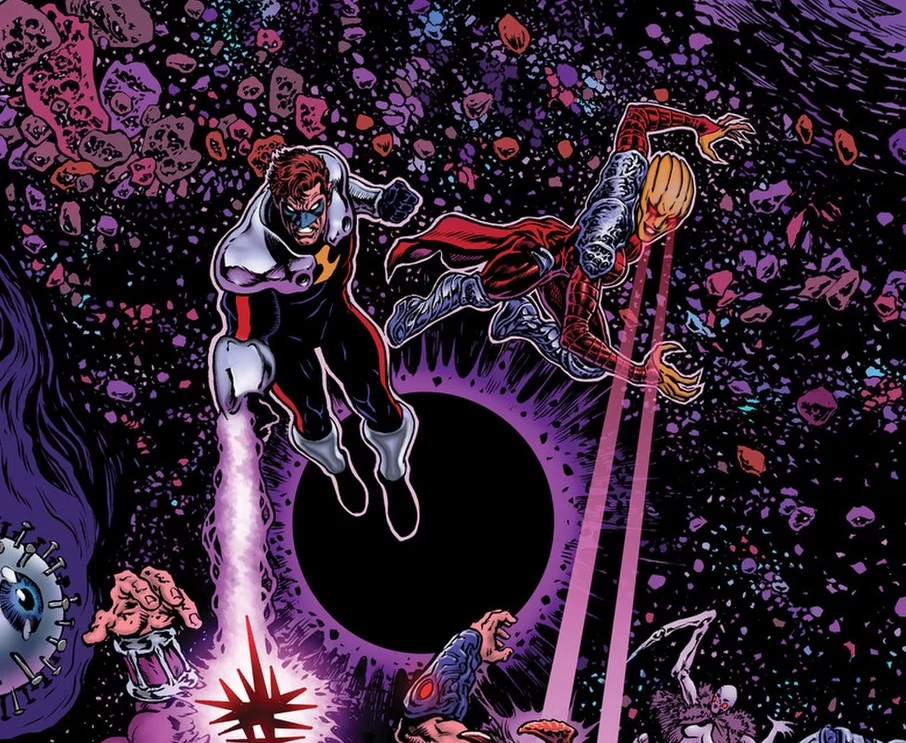 Grant Morrison, Alan Moore and Geoff Johns' works intertwine in a whole new era!