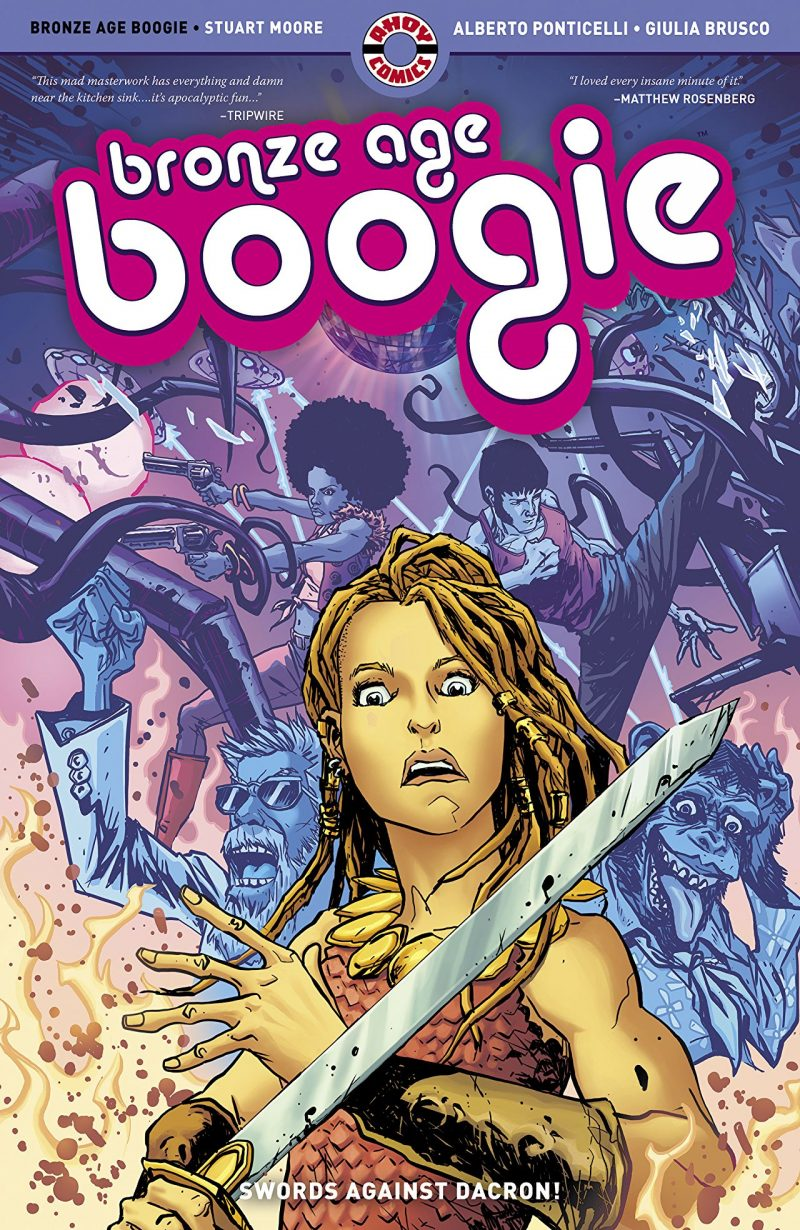 Talking 'Bronze Age Boogie' with AHOY's Stuart Moore