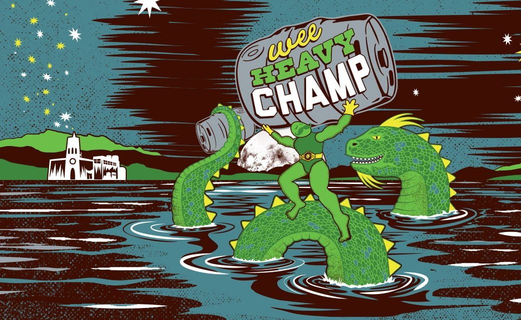 Magic Hat Brewing's Wee Heavy Champ -- more mysterious than a cold-water cryptid