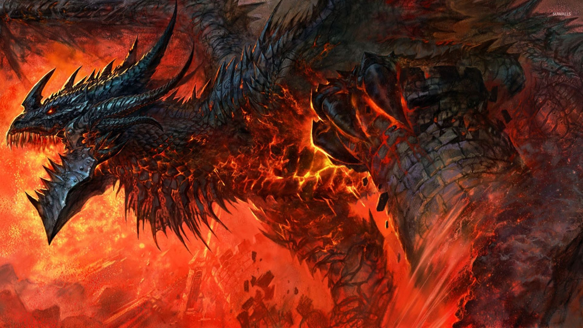 """I AM DEATHWING, THE DESTROYER, THE END OF ALL THINGS, INEVITABLE, INDOMITABLE; I AM THE CATACLYSM!"""