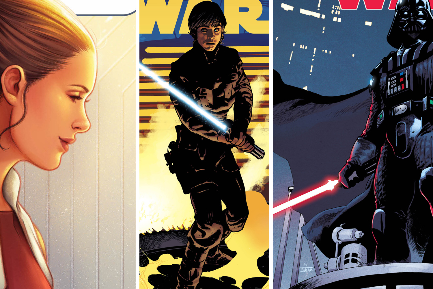 Get a first look at upcoming Star Wars variant covers.