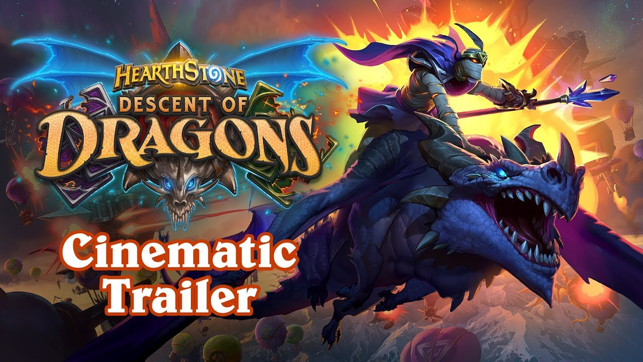 Hearthstone: Descent of Dragons, new expansion revealed