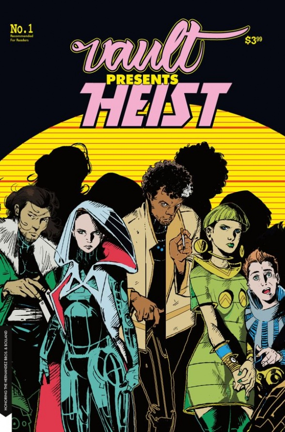 A classic heist story with a little intergalactic polish.