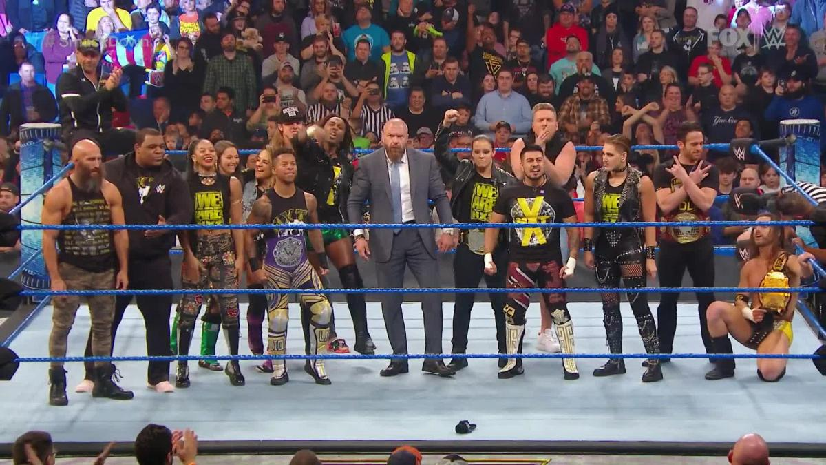 Narrative cohesion, or why last Friday's SmackDown was so good