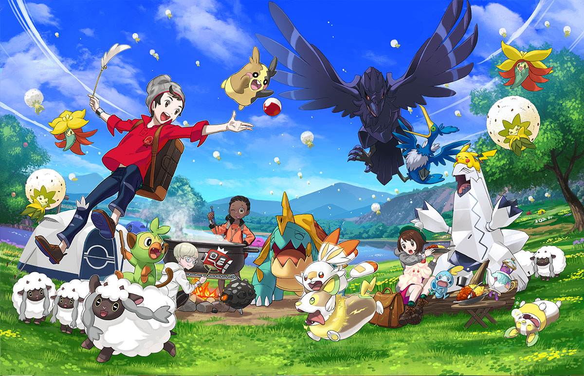Fan controversy surrounding Game Freak's handling of Pokemon Sword and Shield hasn't effected positive reviews for the game on release day.