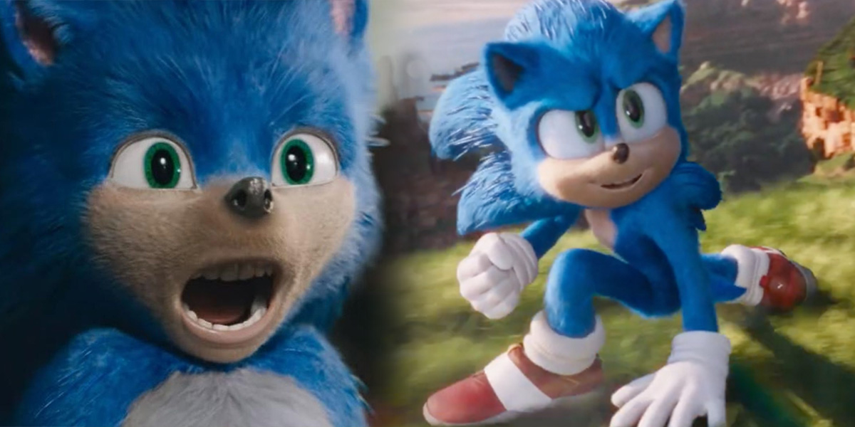 At least he actually looks like Sonic now.