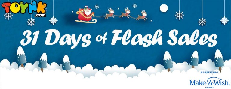 Toynk Toys announces 31 Days of Flash Sales