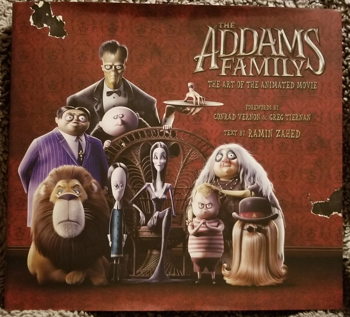 'The Addams Family: The Art of the Animated Movie' review