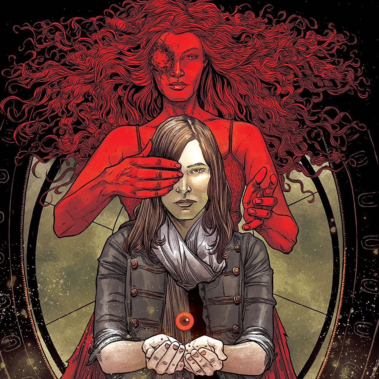 For someone like me who has a phobia of their eyes being touched, the new horror comic series from Jeremy Haun (writer) and Danny Luckert (artist) might not be recommended reading.