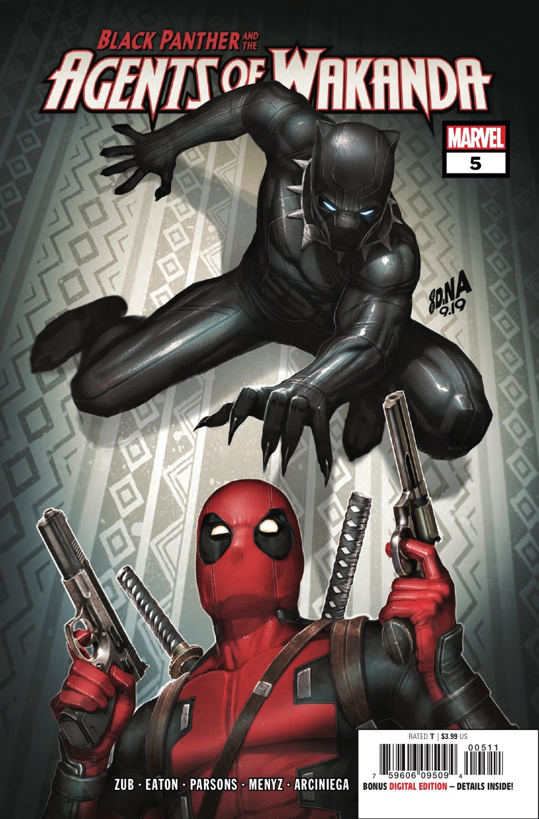 Black Panther and the Agents of Wakanda vs. the Merc with a Mouth, Deadpool!