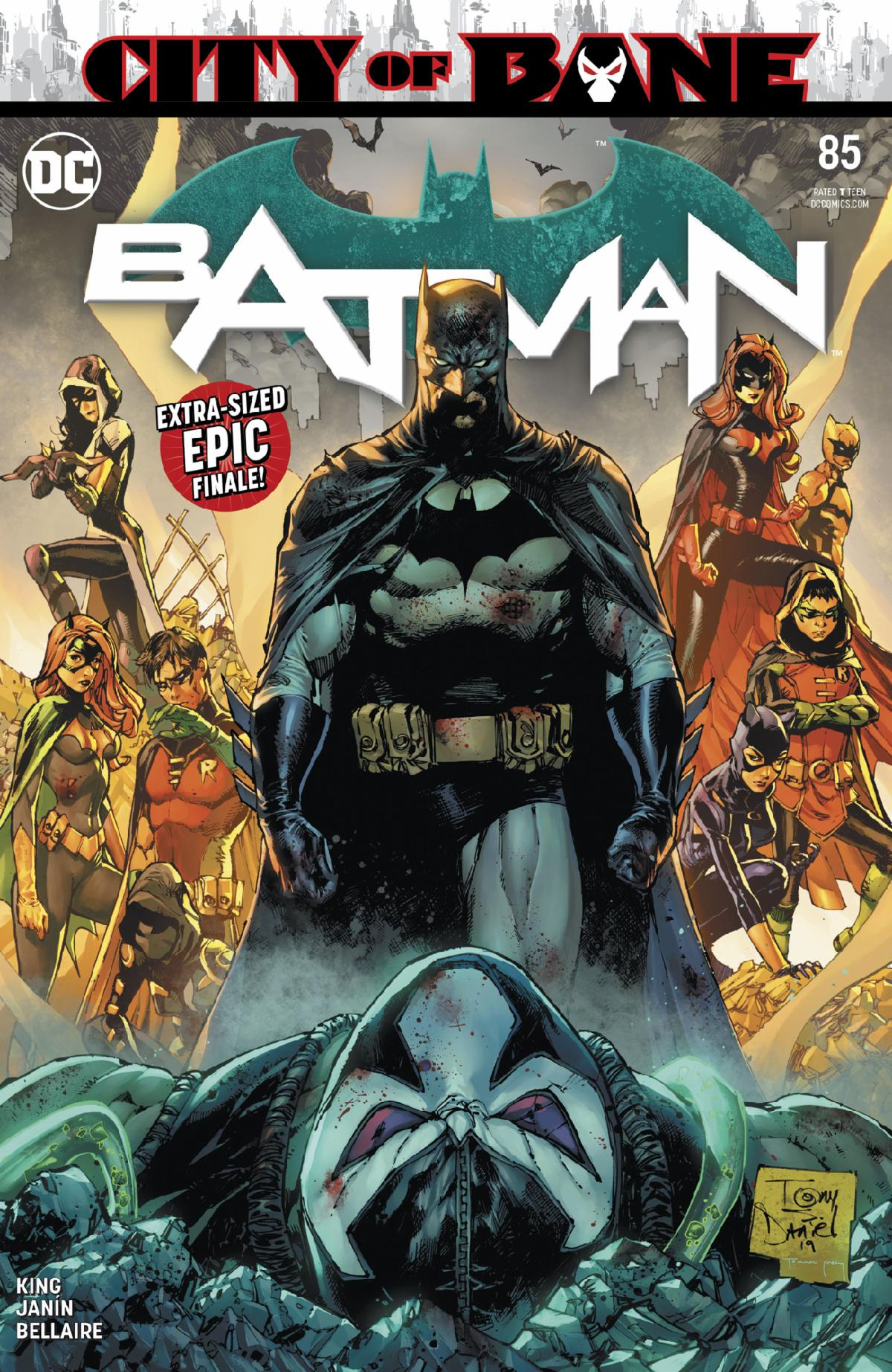 The final issue of Tom King's Batman run is here.