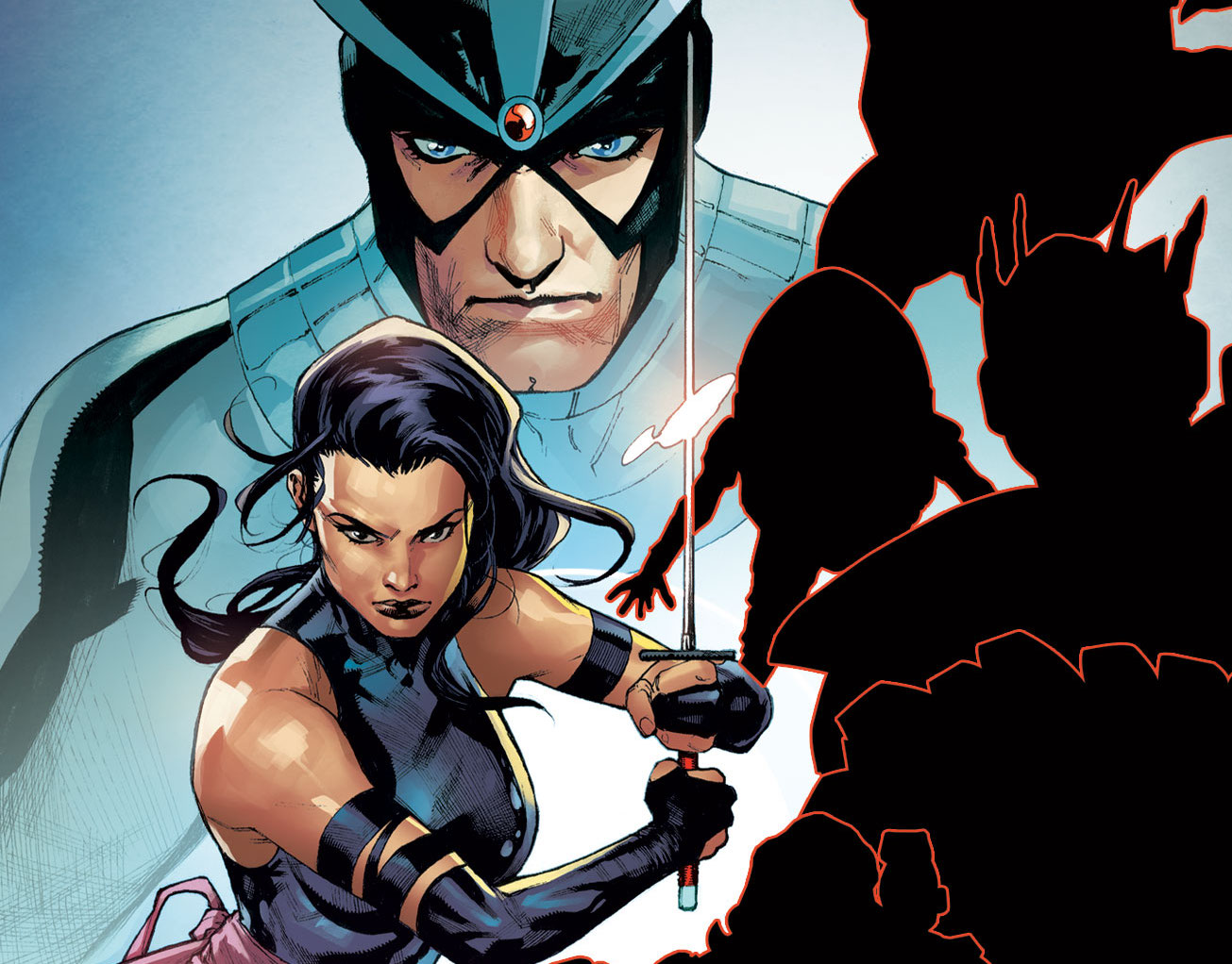Havok and Psylocke are revealed in new promo image.