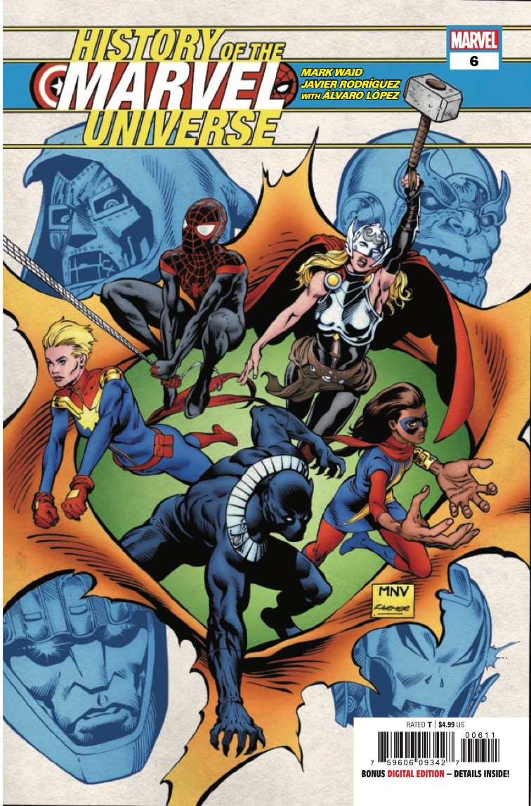 Marvel Preview: History of the Marvel Universe #6
