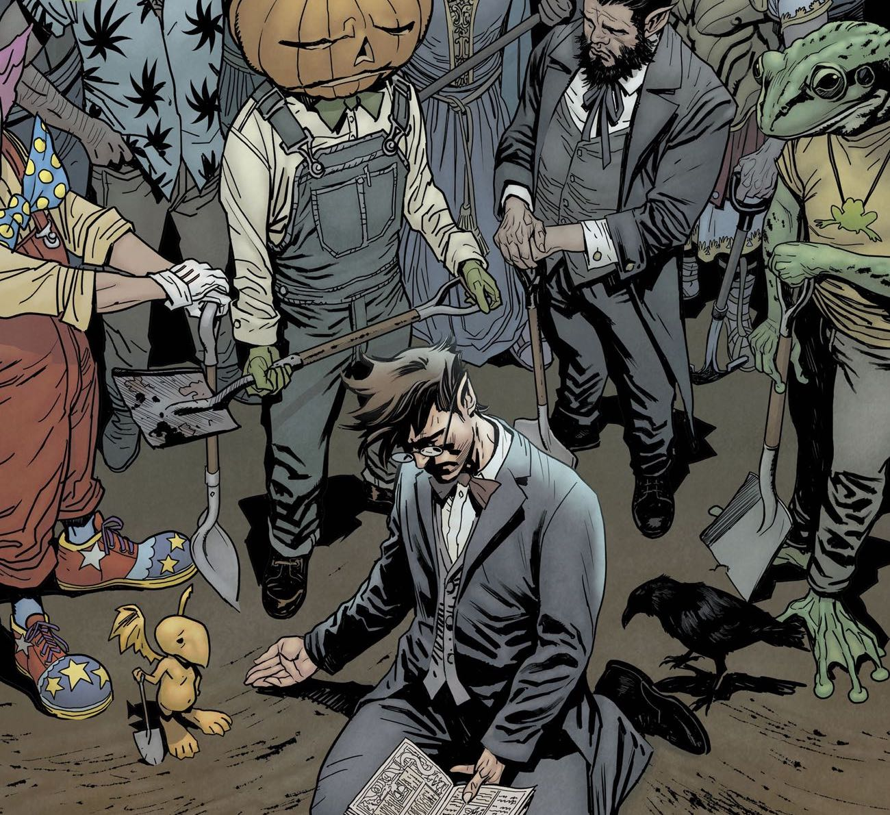 A fan-favorite Neil Gaiman character may have returned in 'The Dreaming' #17