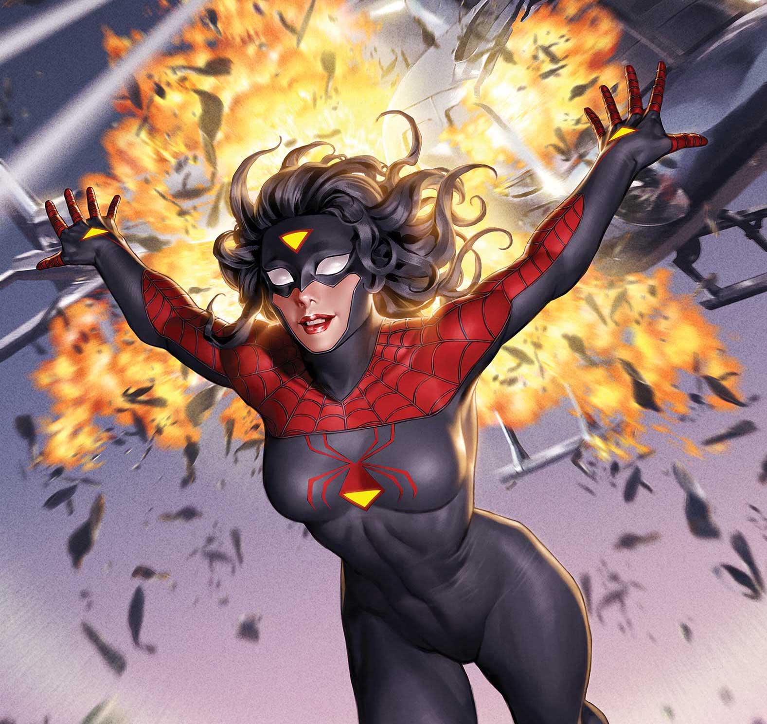 Marvel Comics First Look: Spider-Woman suits up in new costume this March