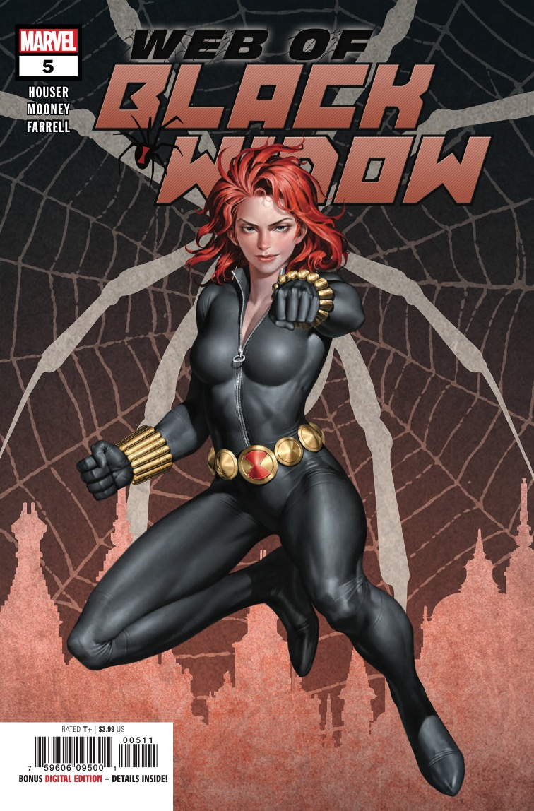 Marvel Preview: The Web of Black Widow #5