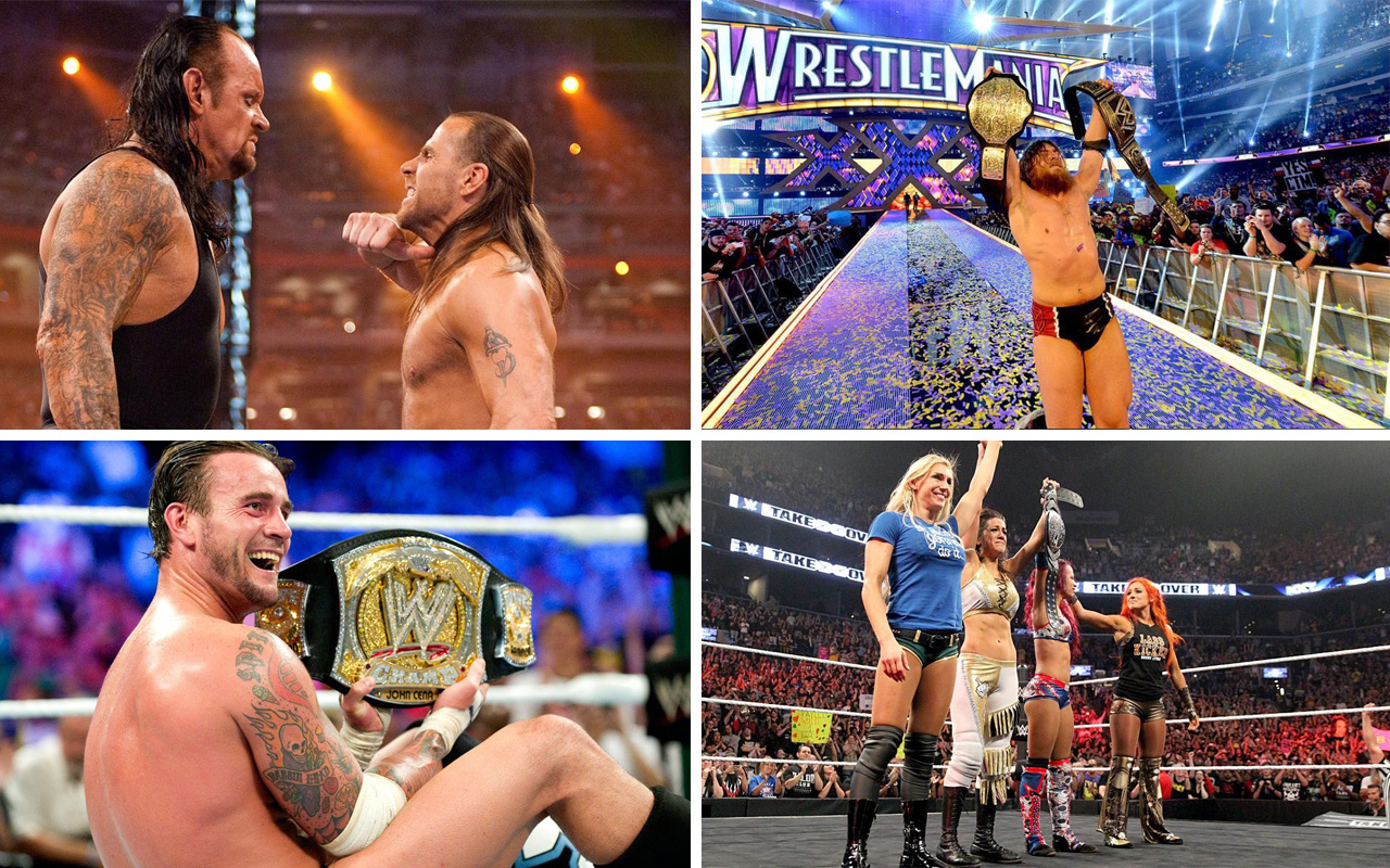 The best WWE matches of the 2010s