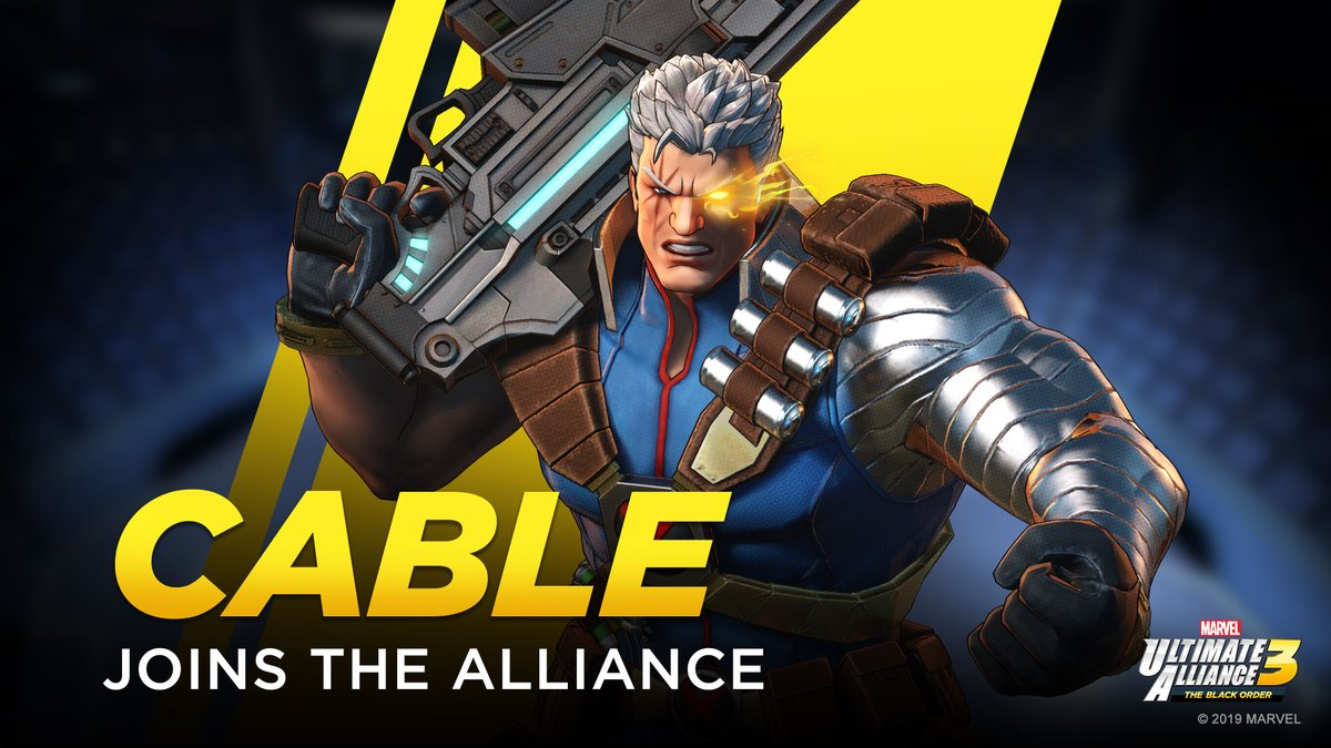 Cable and the X-Men join the team in Marvel Ultimate Alliance 3: The Black Order DLC Pack 2
