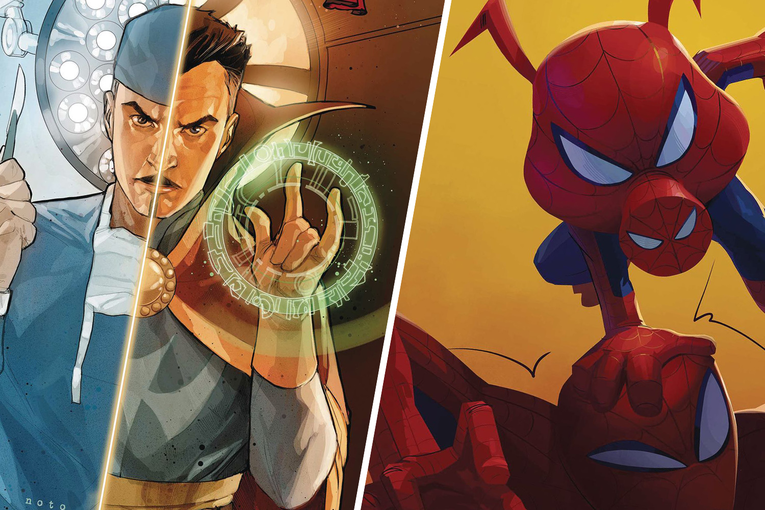 Recapping the week of comics and look ahead to keep you up to date and connected.