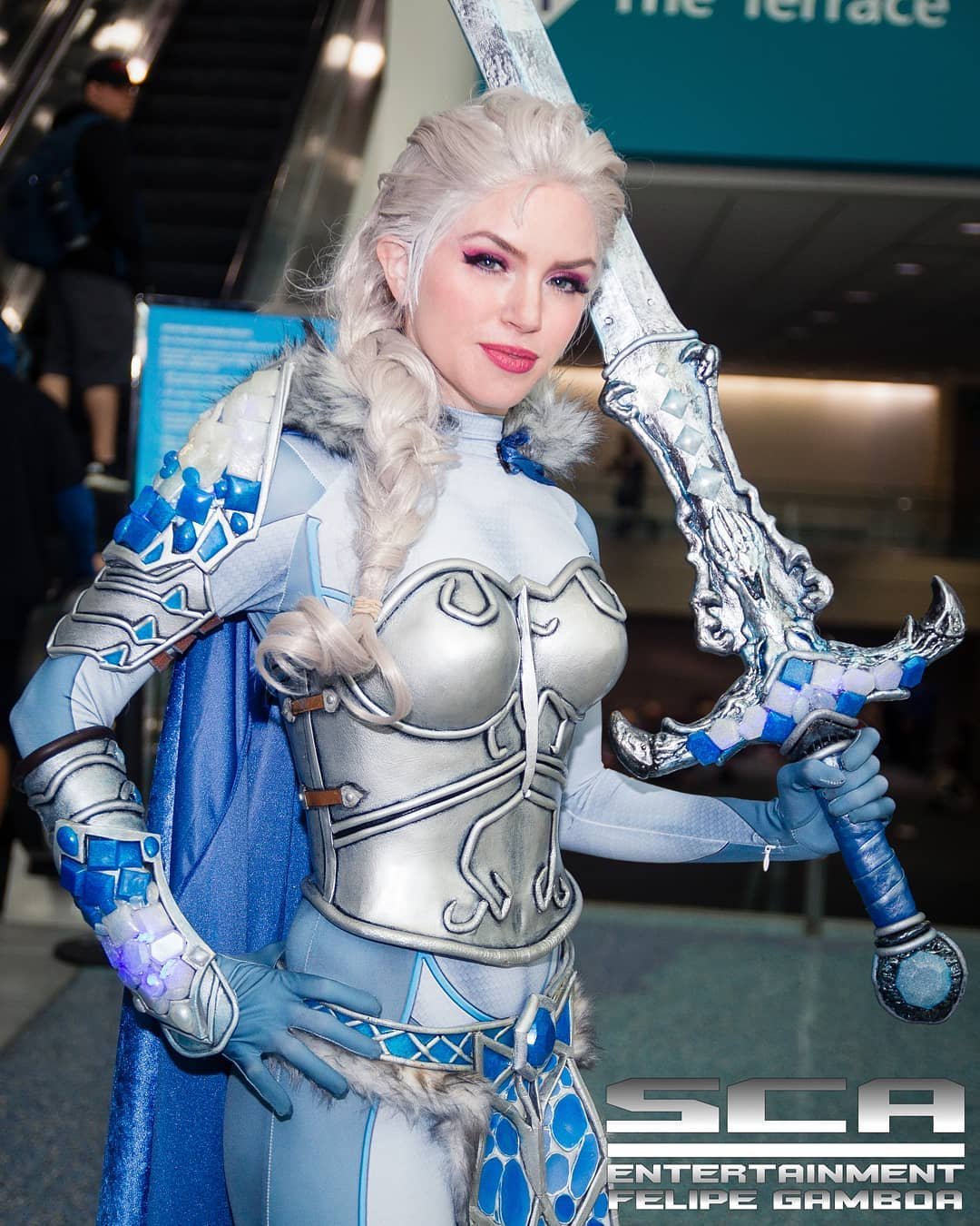 Frozen: Battle-armor Elsa cosplay by ArmoredHeart