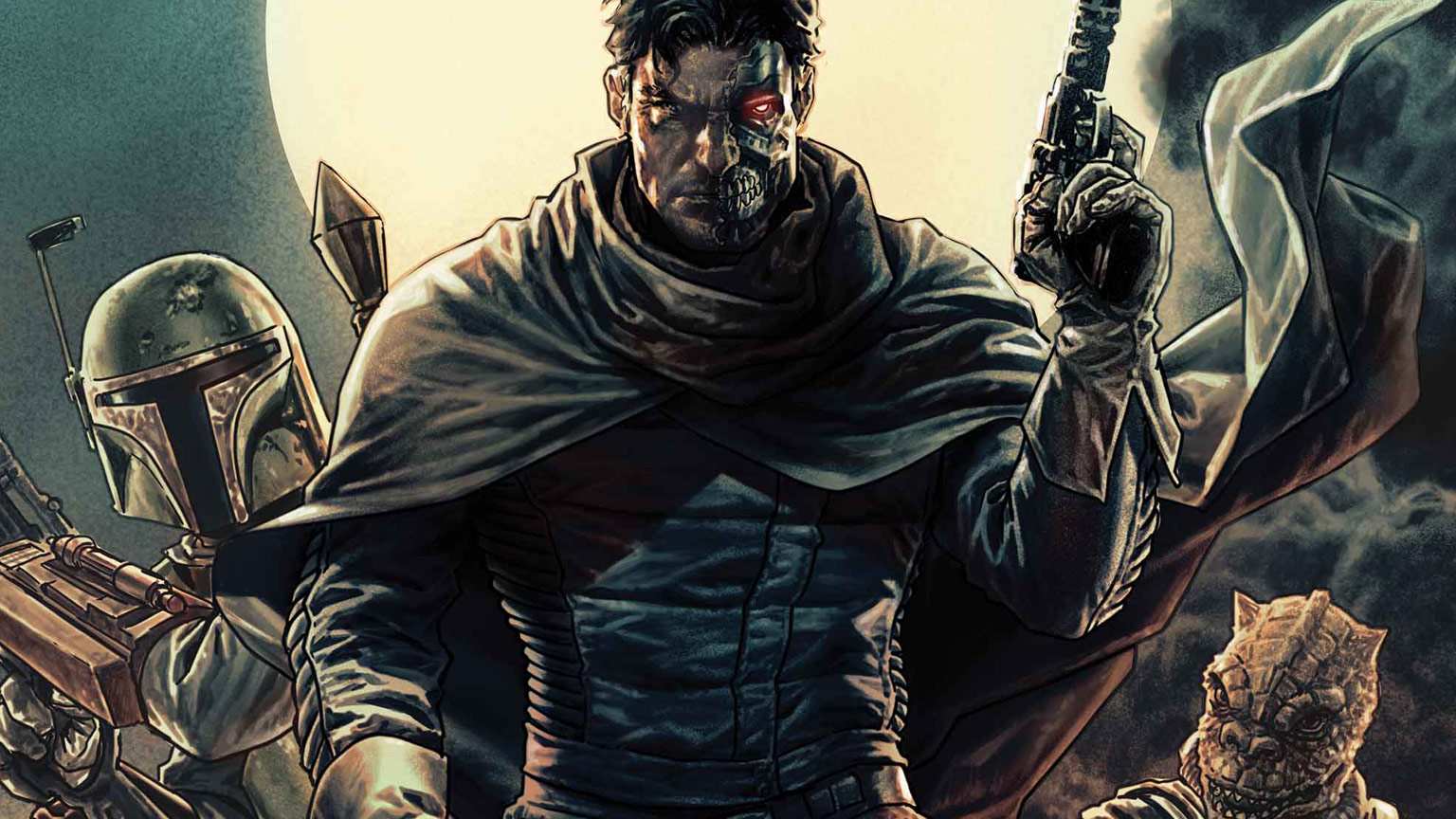 Star Wars announces new ongoing series, Bounty Hunters