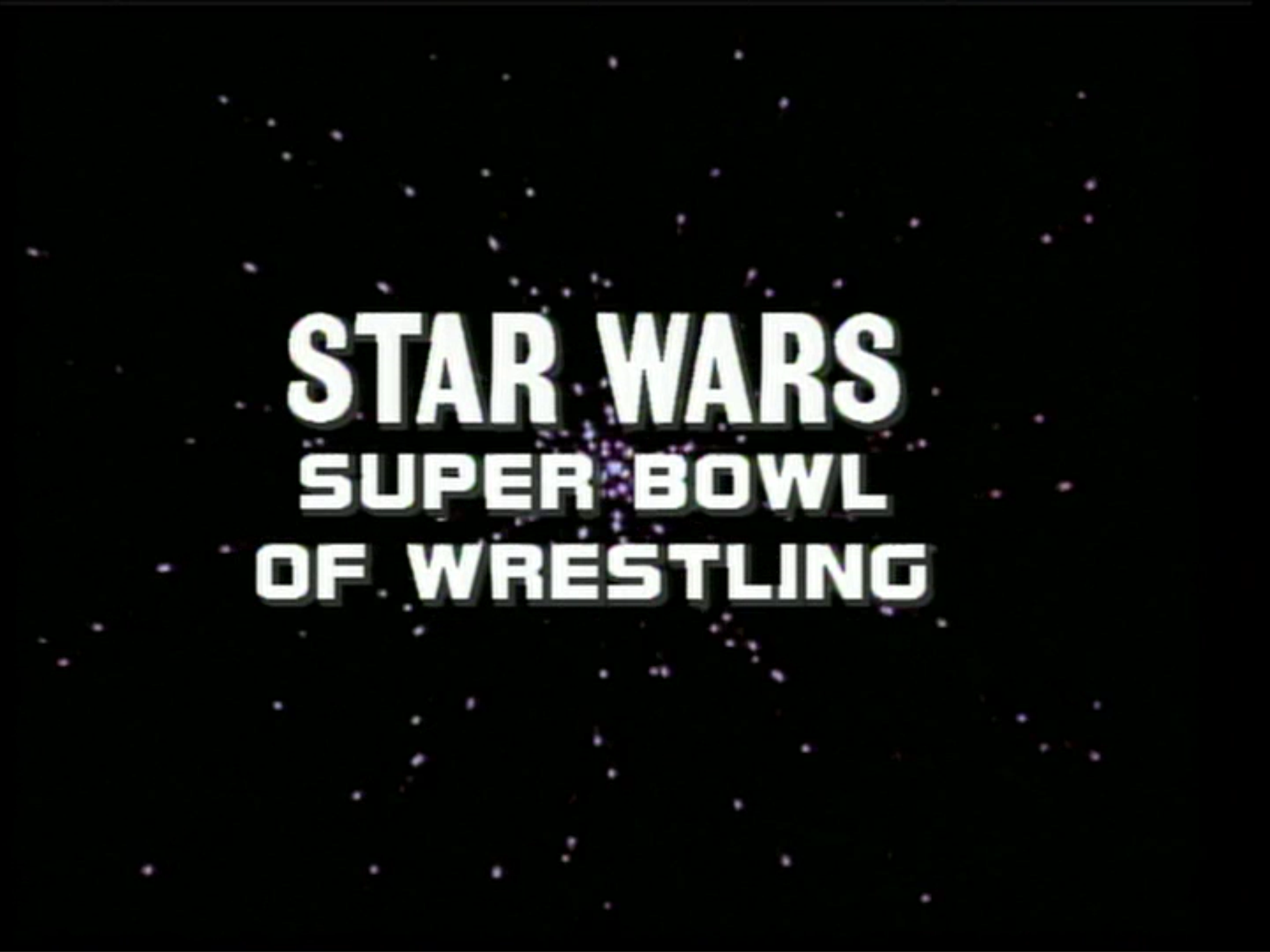 A Mark's Eye View: WCCW presents...Star Wars?