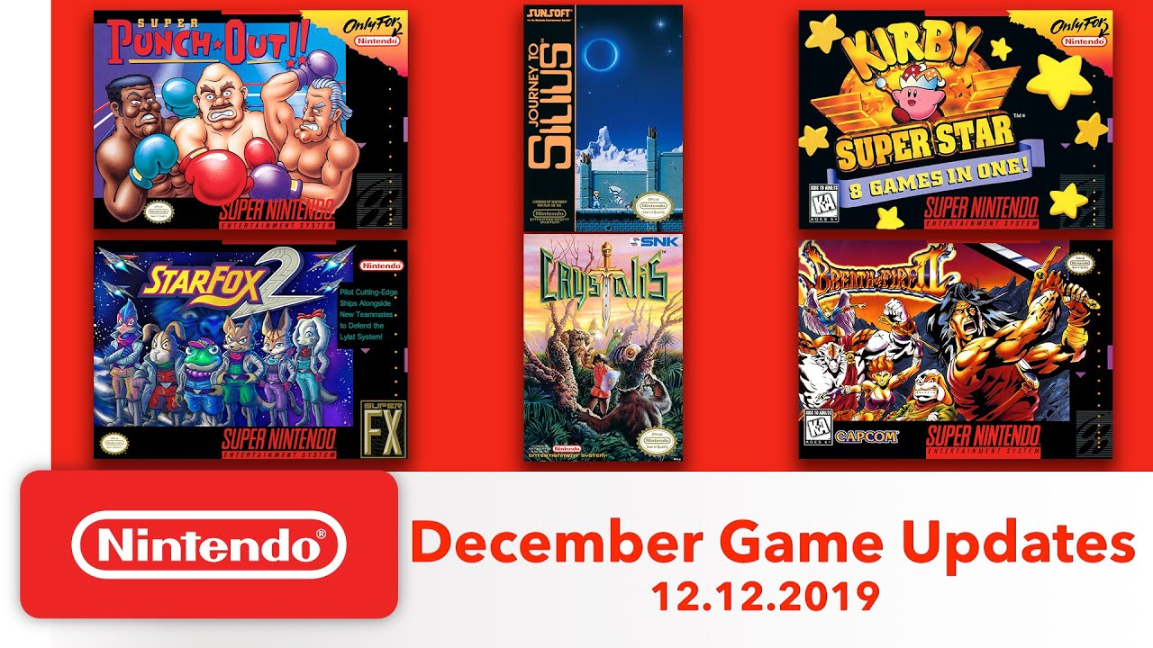 Nintendo Switch: 6 classic games will be added to the NES and SNES online collection
