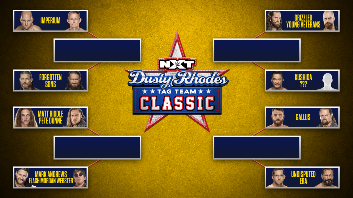 WWE reveals brackets for 2020 Dusty Rhodes Tag Team Classic