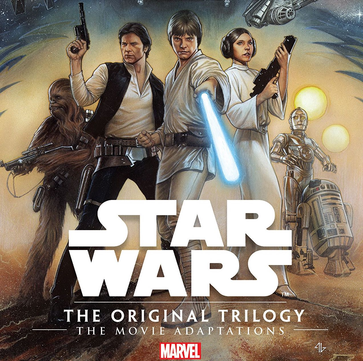 'Star Wars: The Original Trilogy - The Movie Adaptations' TPB Review
