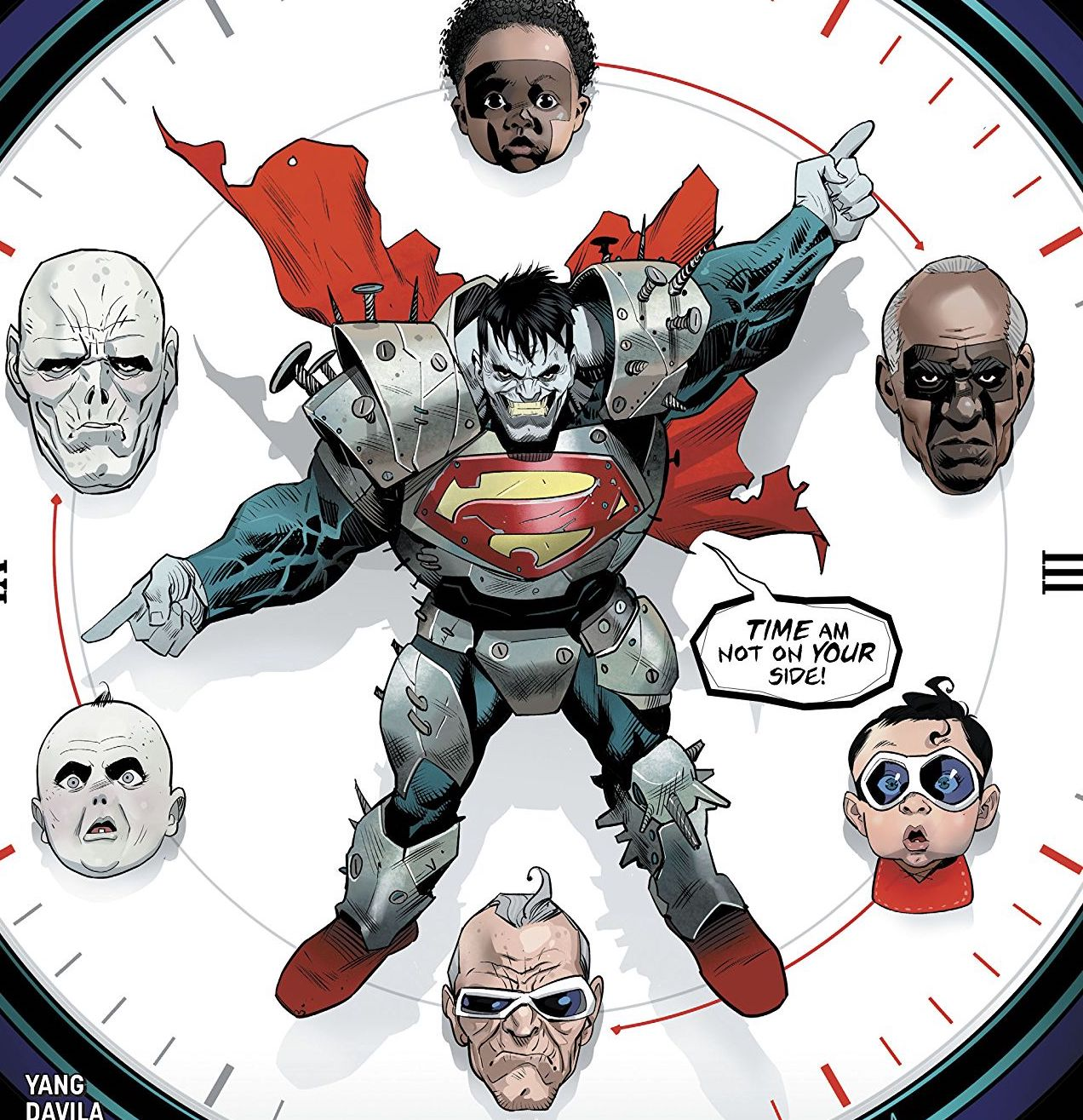 The Terrifics continue to fight Bizarro, who has broken time! Can they escape the time loop they're trapped in?