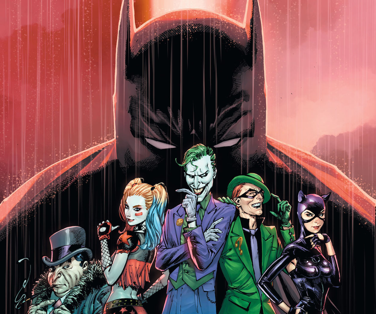 """""""Getting to write Gotham City for Guillem March and Tomeu Morey again is a dream come true!"""" –James Tynion IV"""