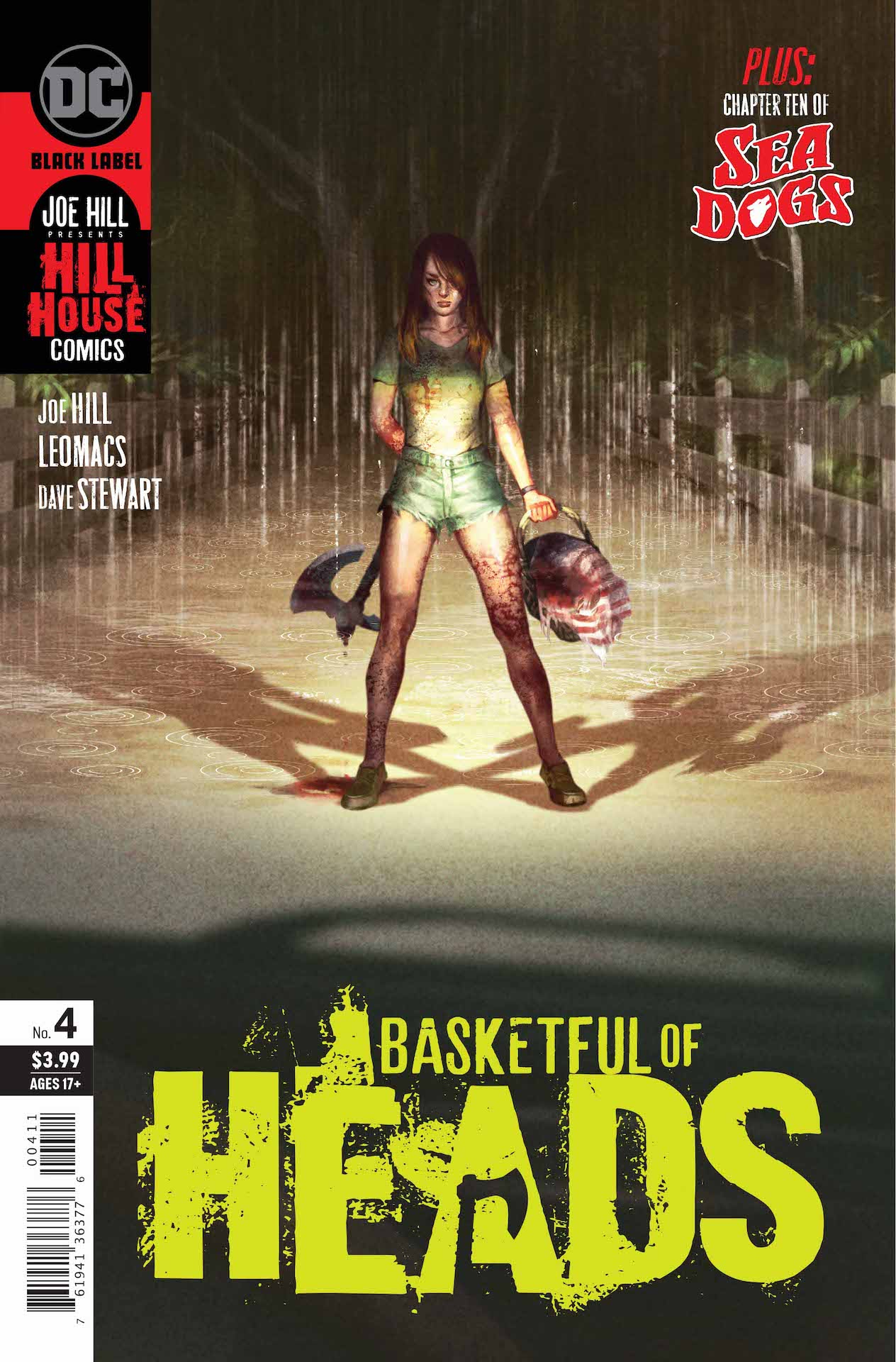 Is June Branch a woman fighting for her life-or a deranged axe murderer with a basketful of paranoid fantasies?