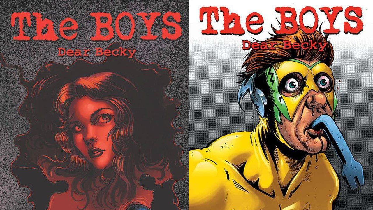 THE BOYS: DEAR BECKY #1 will be solicited in Diamond Comic Distributors' February 2019 Previews catalog.
