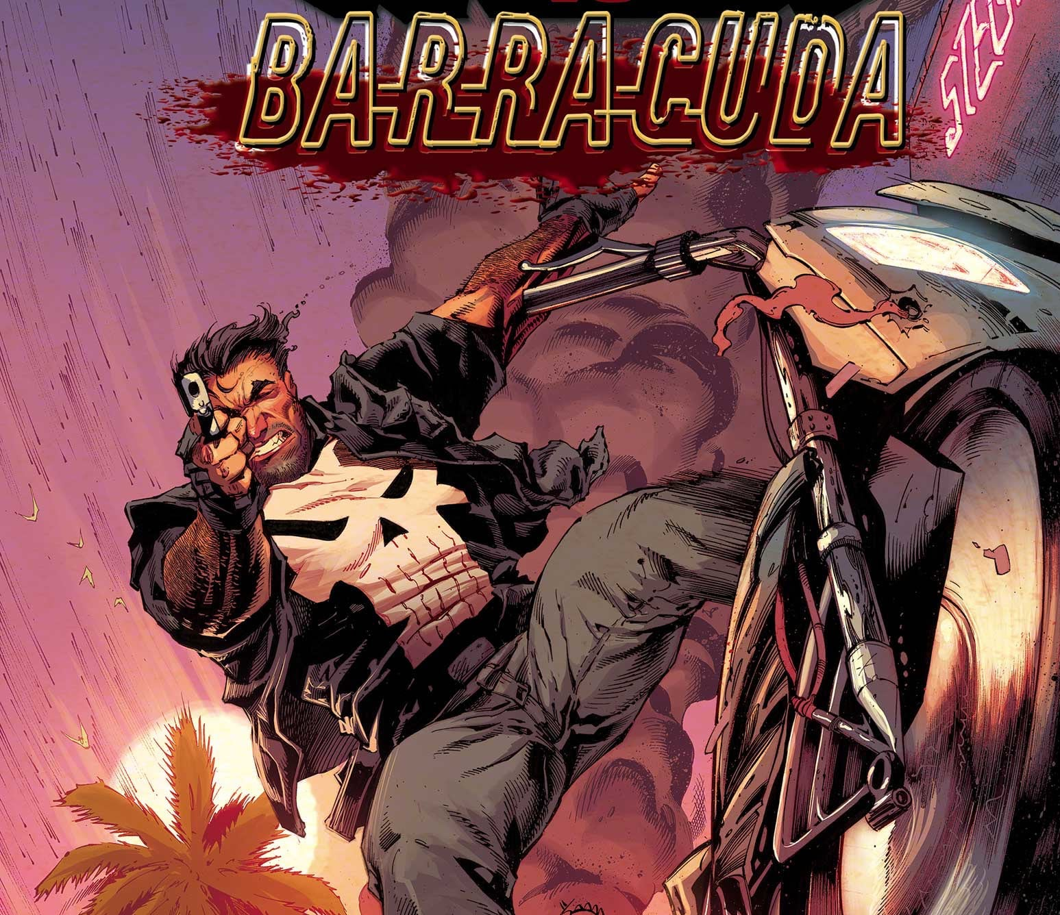 EXCLUSIVE: Ed Brisson and Declan Shalvey talk new series 'The Punisher vs. Barracuda' #1